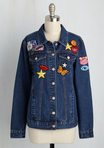 Patches Make Perfect Jacket