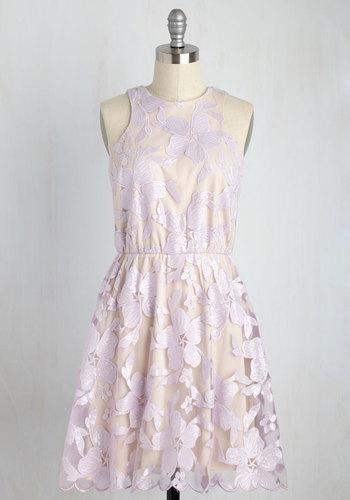 Windflower Waltz Dress in Violet
