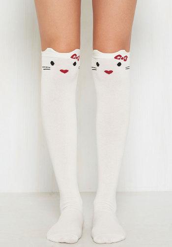 You've Gotta be Kitten Hello Kitty Knee Socks