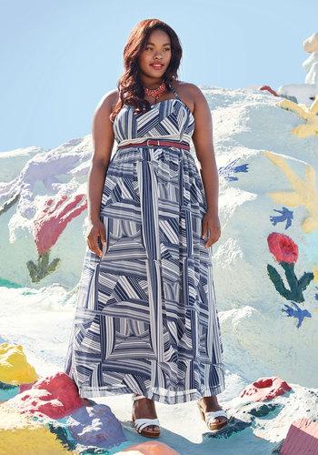 East Beach Engagement Maxi Dress