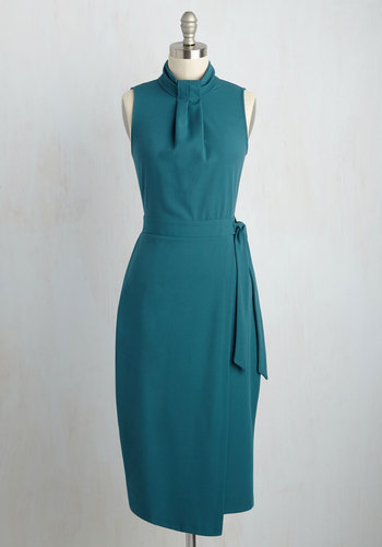 Sleek Supervisor Dress $99.99 AT vintagedancer.com