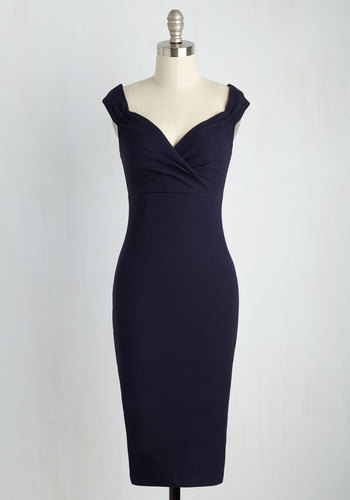 Lady Love Song Dress in Midnight $89.99 AT vintagedancer.com