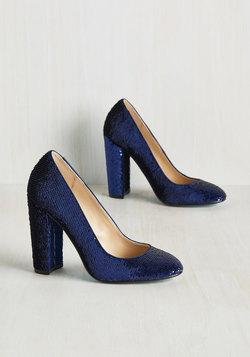 Sequin and Ye Shall Find Heel in Cobalt