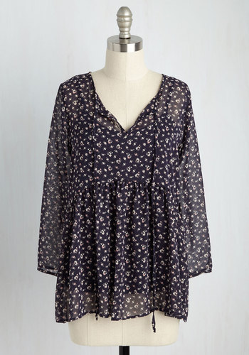 Speaker of the Blouse Floral Top