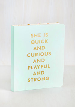 Ambitious Addition Notebook
