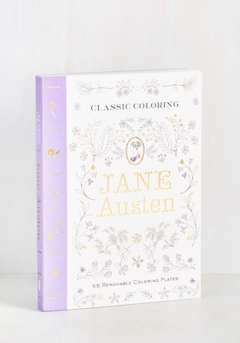 Thinking of You Austen Coloring Book