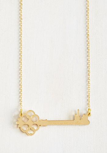 Austin City Limericks Necklace