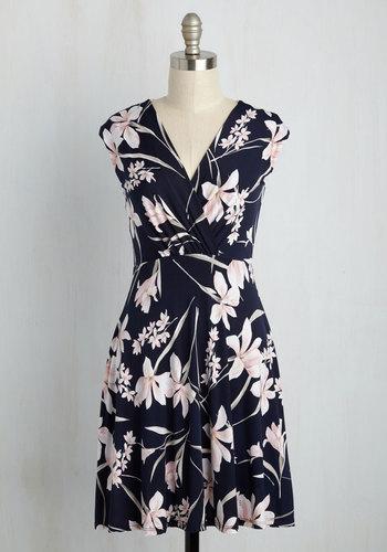 Web Design Devotee Dress in Lilies
