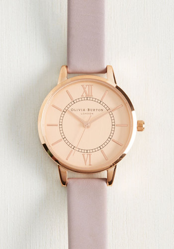 Head of the Classic Watch in Lilac Rose Gold