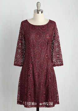 First Expressions are Everything Lace Dress