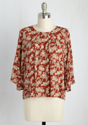 Ode To Dress Code Floral Top