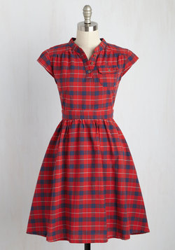 Your Plucky Day A-Line Dress