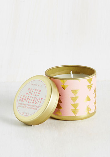 Scents and Sensibility Candle in Salted Grapefruit