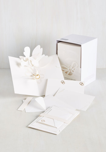 Love Is Patient, Dove Is Kind Wedding Invitation Set