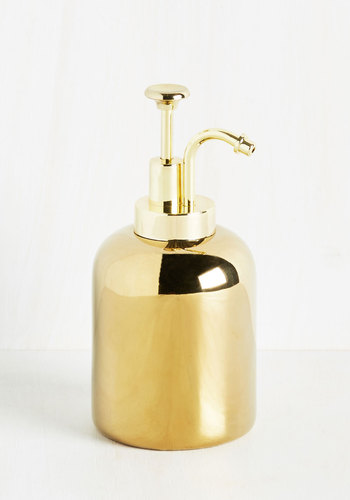 Luminous Luxe Soap Dispenser