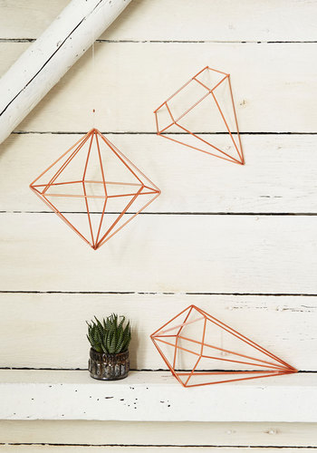 Abode Well Wall Decor in Copper