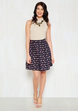 Guidebook Writer A-Line Skirt