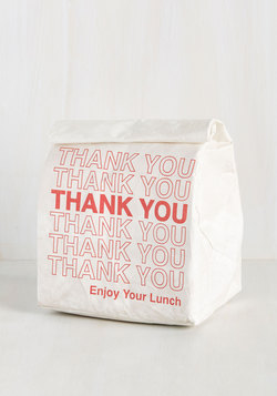 Packed With Personality Lunch Bag