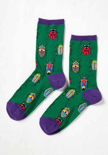 Entomology-Whiz! Socks