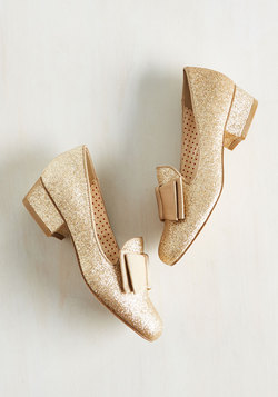 Paris, Prance Heel in Or