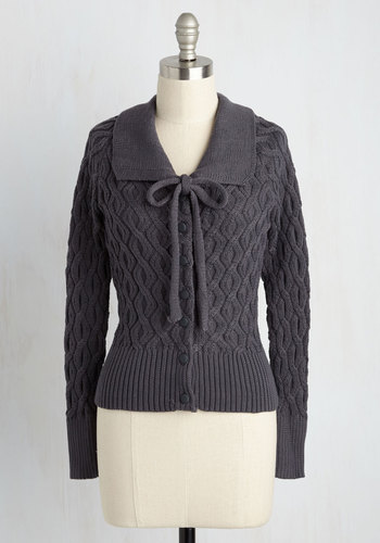 Cable to Make It Cardigan $59.99 AT vintagedancer.com