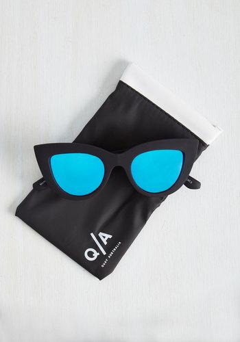 Kitti Sunglasses in Blue Lenses