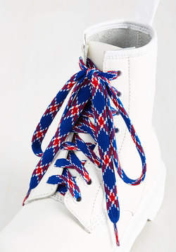 London Crawling Shoelaces in Royal