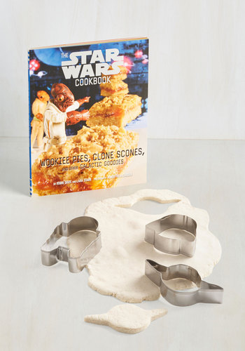 The Star Wars Cookbook Kit by Chronicle Books - Multi, Good, Hostess, Sci-fi, Guys, Gals, Blue