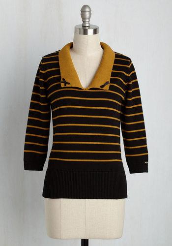 I Think I Cannes Sweater $69.99 AT vintagedancer.com