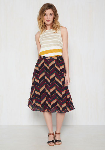 Feeling Midi Fresh Skirt $69.99 AT vintagedancer.com