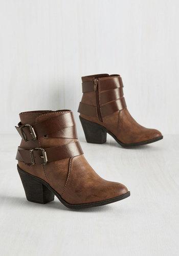 Been Around the Block Heel Boots