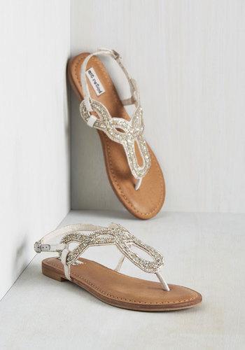 A Shine Line Sandal
