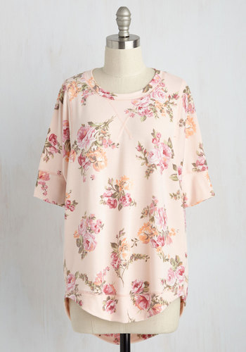 Best of Botanical Top in Rose
