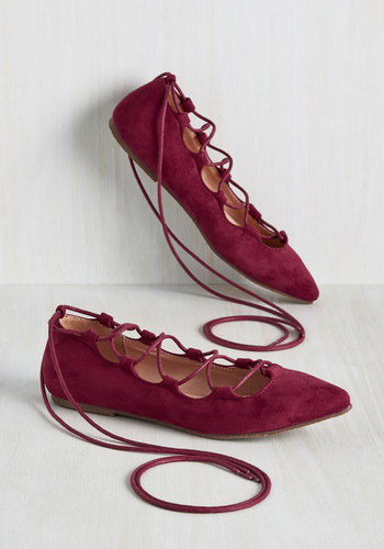 Cranberry Flat Womens Shoes