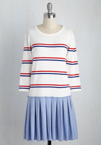 In the Face of Ad-Varsity Dress $74.99 AT vintagedancer.com