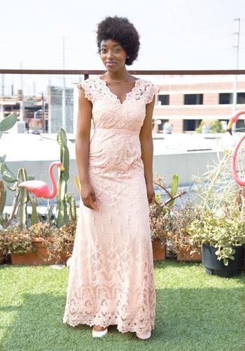 Vintage Inspired Wedding Dresses Memorable Matrimony Dress in Petal $250.00 AT vintagedancer.com