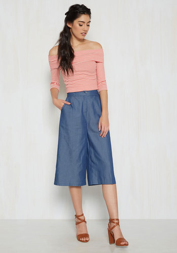 Culottes of Luck! Capris