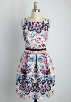 Estate Celebration Floral Dress