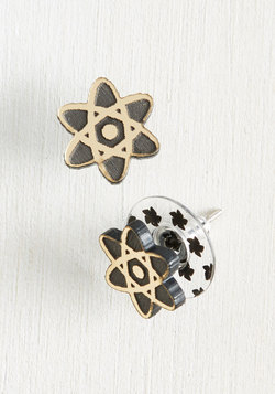 Up and Atom Earrings