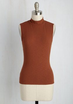 Panache With Care Tank Top in Marmalade