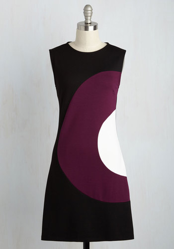 Choose Your Words Cheerfully Dress in Plum $89.99 AT vintagedancer.com