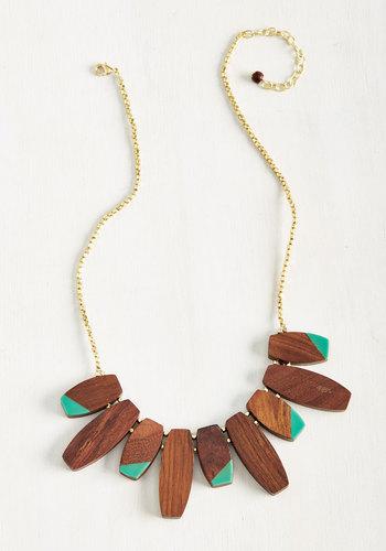 Understand Your Accent Necklace $39.99 AT vintagedancer.com