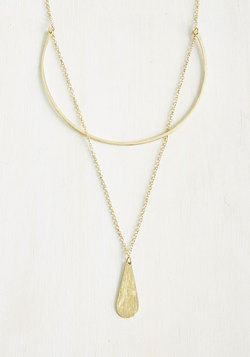 Teardrop On Over Necklace