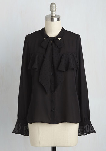 Edwardian Style Blouses Live Graph Love Top $59.99 AT vintagedancer.com