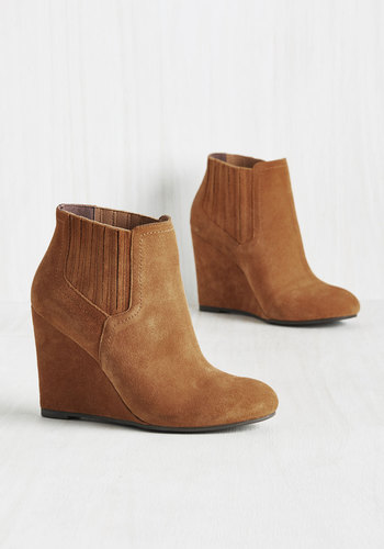 Against All Auditions Suede Bootie