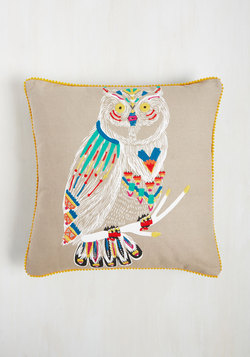 Restful Destiny Pillow in Owl