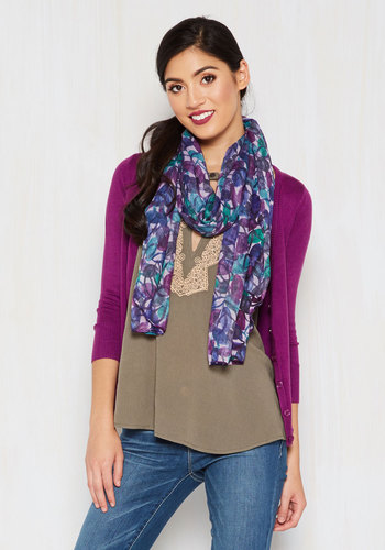 Flutter Yourself Scarf in Watercolor