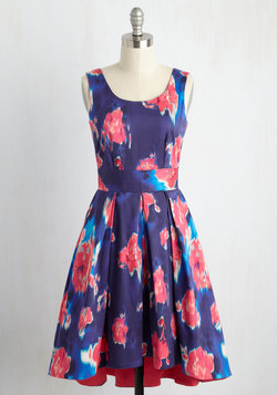 Deserving of Indulgence Floral Dress