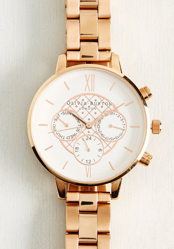 Key To Punctuality Watch in Rose Gold