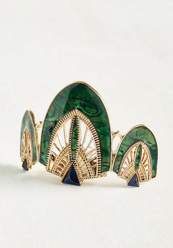 1920sFlapperHeadbands Call the Cabaret Hair Comb in Verdant $19.99 AT vintagedancer.com